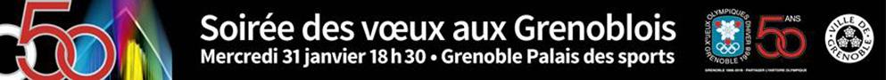 Mairie de Grenoble - bannière accueil - voeux du maire janvier 2018