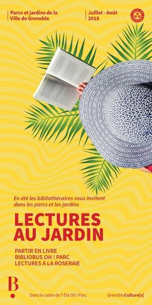 Bibliotheques de Grenoble - lectures au parc