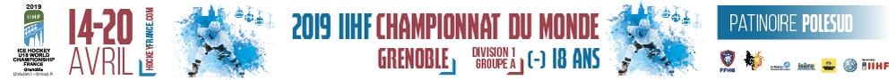 BDL - coupe du monde de hockey - bannière accueil avril 2019