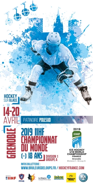 BDL - Coupe du monde de hockey U18 - skyscraper avril 2018