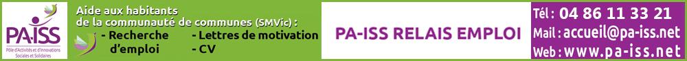 PA-ISS Emplois- bannière emploi été 2019