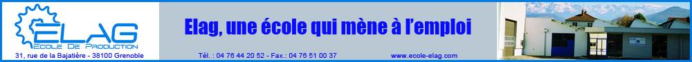 ELAG - bannière accueil et enseignement mars 2020