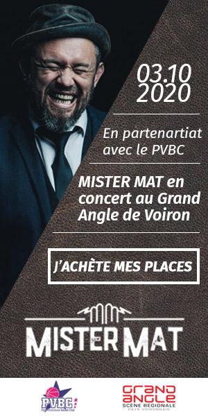 PVBC - Skyscraper agenda concert MisterMat 2020
