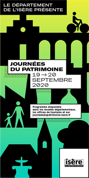 Département de l'Isère - Skyscraper Journées du Patrimoine 2020