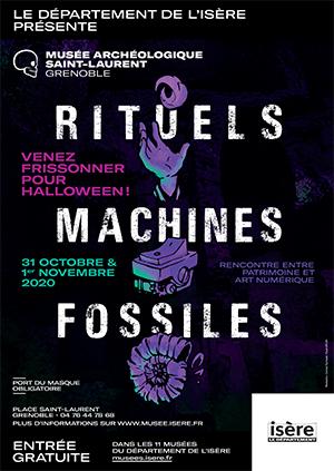 Musée archéologique St-Laurent - Skyscraper agenda halloween octobre 2020