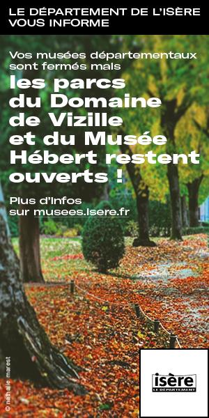 Departement Isere - skyscraper novembre 2020 - confinement ouverture parcs musées