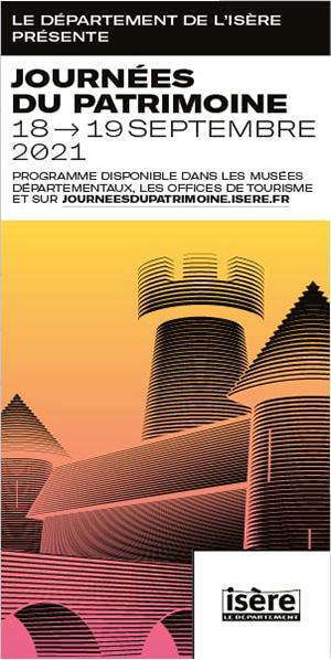 Département de l'Isère - Skyscraper Journées du Patrimoine septembre 2021