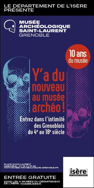 Musée archéologique Grenoble - Skyscraper octobre 2021 anniversaire