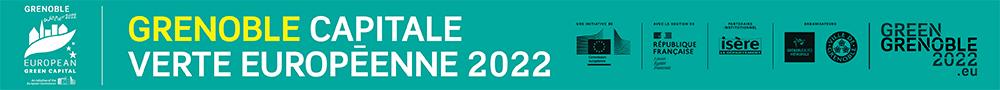 Mairie de Grenoble - bannière accueil Capitale Verte octobre 2021